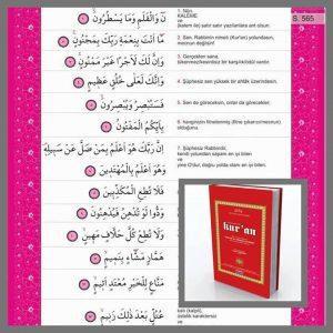 Arapça-Türkçe Kur'an Meali-1
