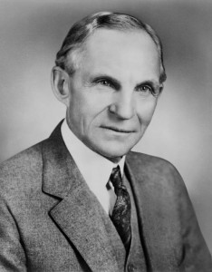 Henry Ford (Siyah-Beyaz)